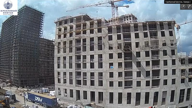 Веб-камеры на площадке строительства ЖК «Серебряный фонтан»  - Страница 12 I4rnkb10