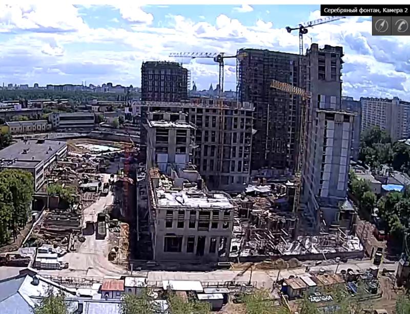 Веб-камеры на площадке строительства ЖК «Серебряный фонтан»  - Страница 12 Rcdkvj10
