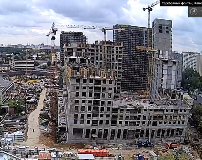 Веб-камеры на площадке строительства ЖК «Серебряный фонтан»  - Страница 14 Rp6bwj10