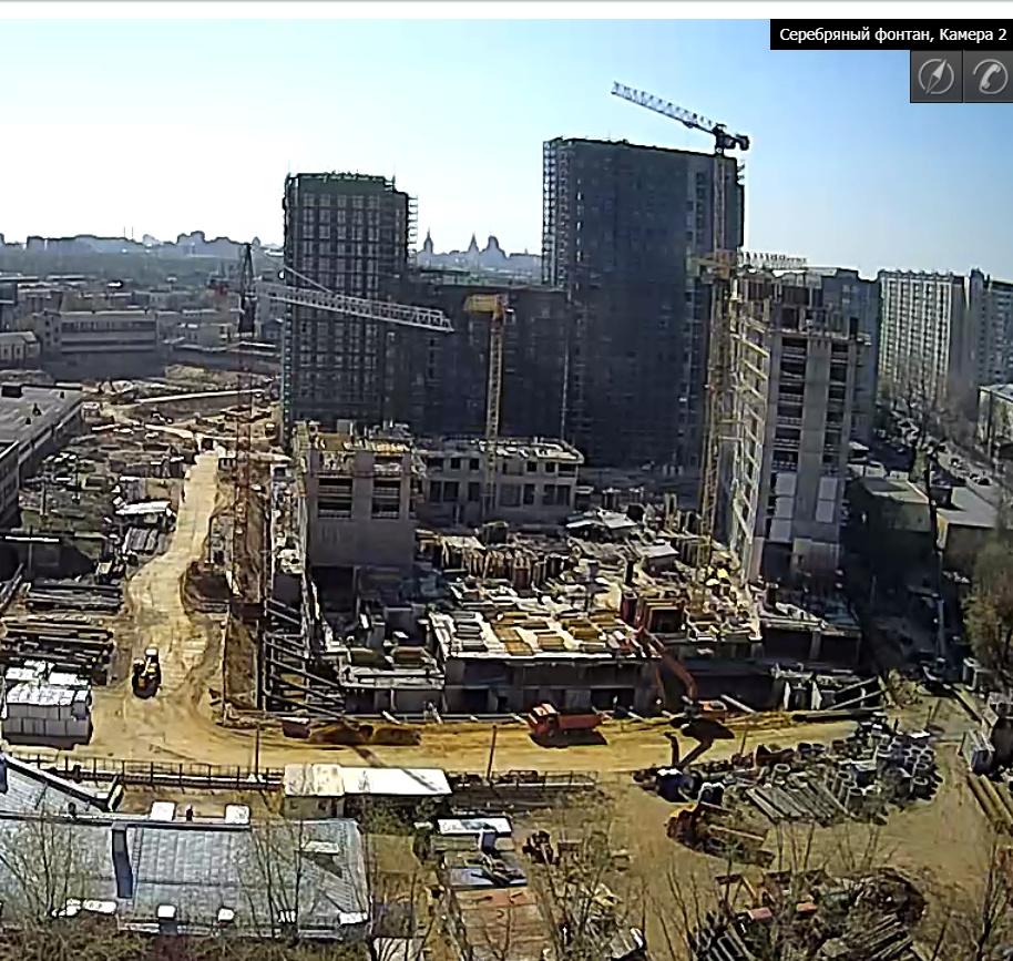 Веб-камеры на площадке строительства ЖК «Серебряный фонтан»  - Страница 10 Ua8iiu10