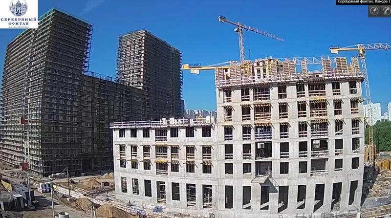 Веб-камеры на площадке строительства ЖК «Серебряный фонтан»  - Страница 11 Xnpm2f10