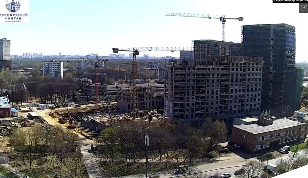 Веб-камеры на площадке строительства ЖК «Серебряный фонтан»  - Страница 10 Xp3rxk10