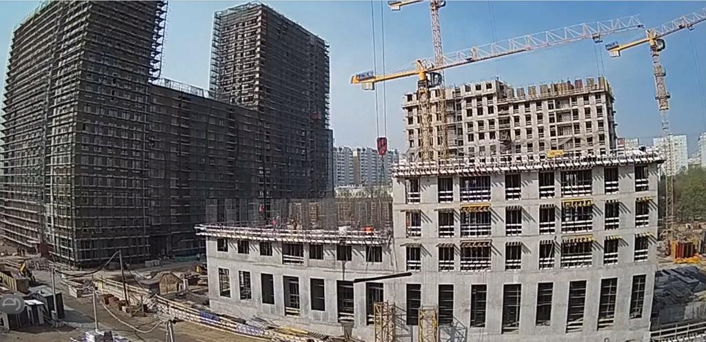 Веб-камеры на площадке строительства ЖК «Серебряный фонтан»  - Страница 10 Ydxl9m10