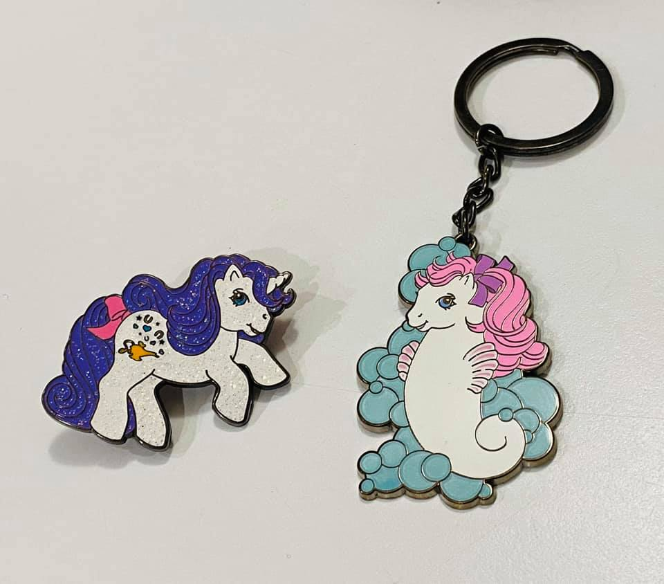 Rainbow Beats + Keeper are here!! + Sea Glow Keyring & Genie Pin!  Seaglo10