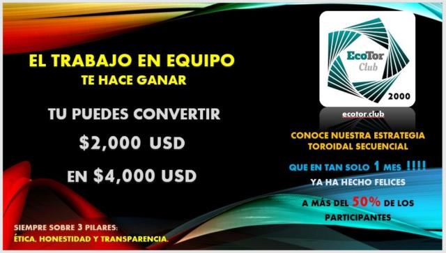 Ecotor.Club | Multiplica tu Dinero x2, x3, x7 sin darle el dinero a ninguna compañía Invita10