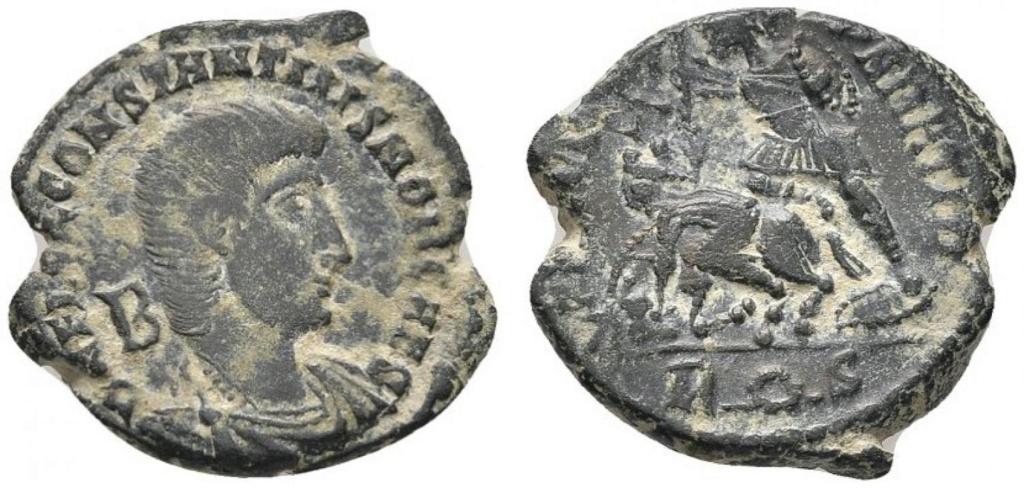 AE3 de Constancio Galo. FEL TEMP REPARATIO. Roma 42739812