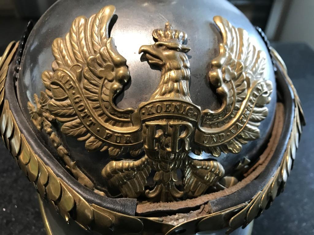 Opinion  casque cuirasser prussien 5be28610