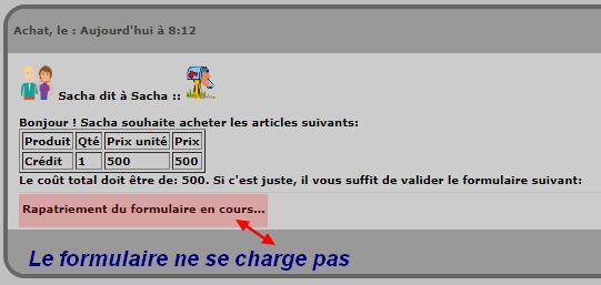 Problème avec fa7up Boutiq11