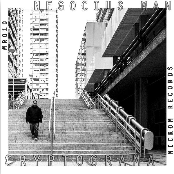 Negocius Man - Cryptograma (MR019) [Microm Records] Sticke10