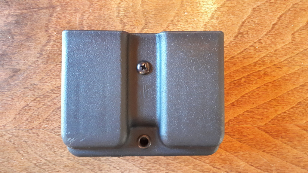 Blade-tech Double Mag Pouch pour Single Stack Magazines   $30.00    Brand New 20201012