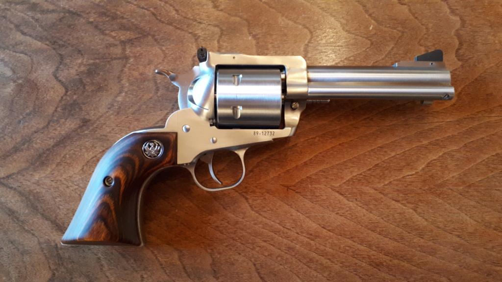 Je viens d'essayer mon nouveau Ruger Super Blackhawk en 44 Magnum 20201113