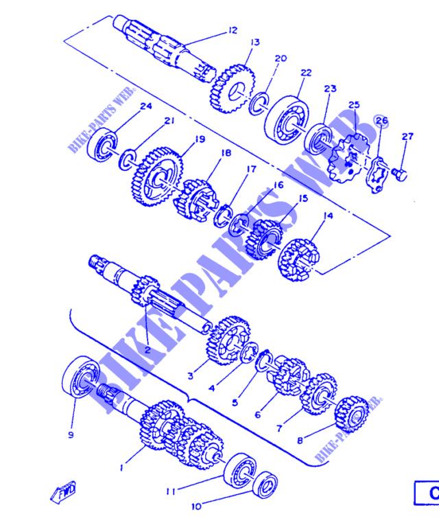 support de pigon de sortie de boite de vitesse Suppor12