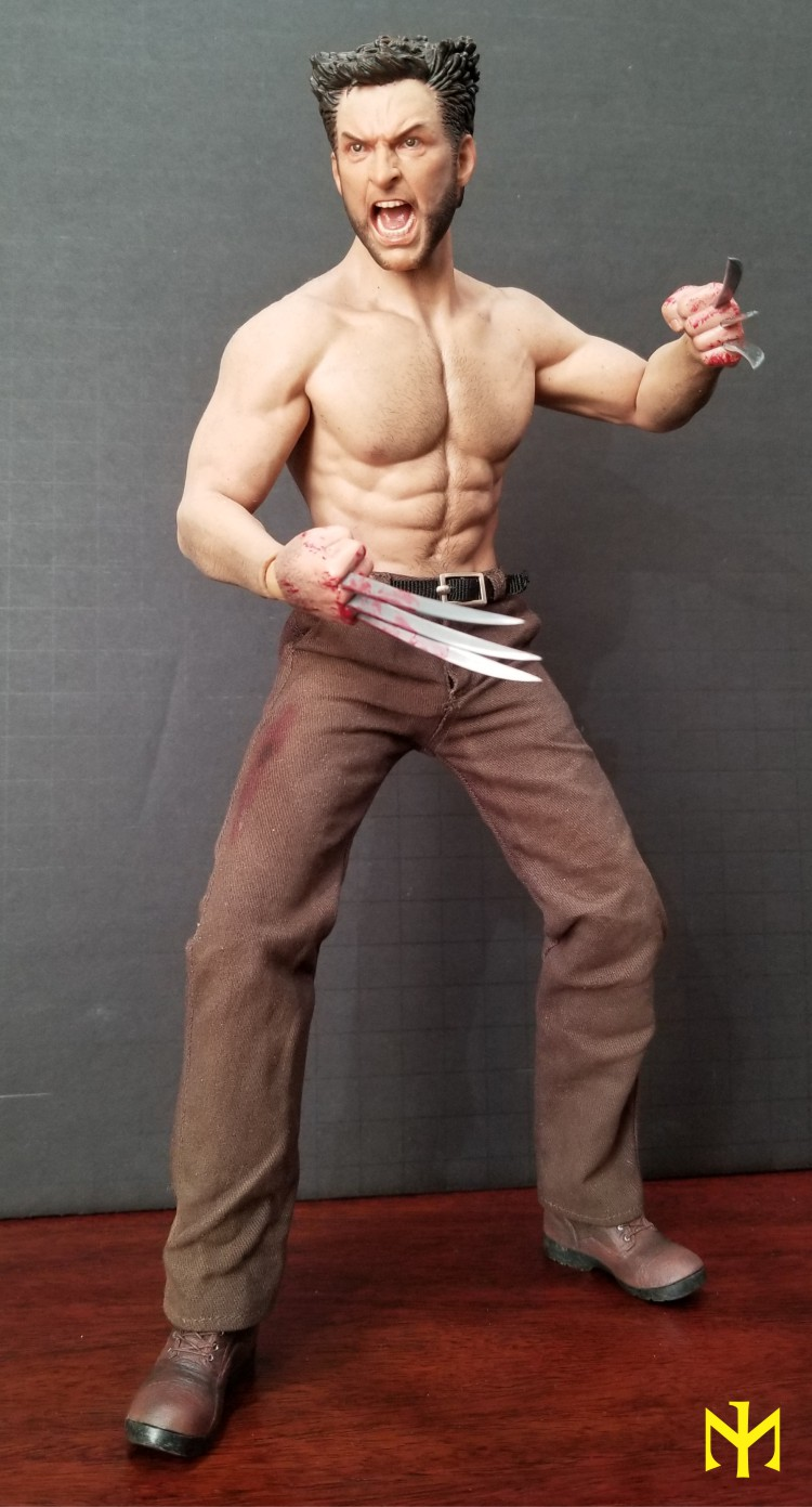 Marvel - ADD TOYS War Wolves Back (muscle version) Addwwb10