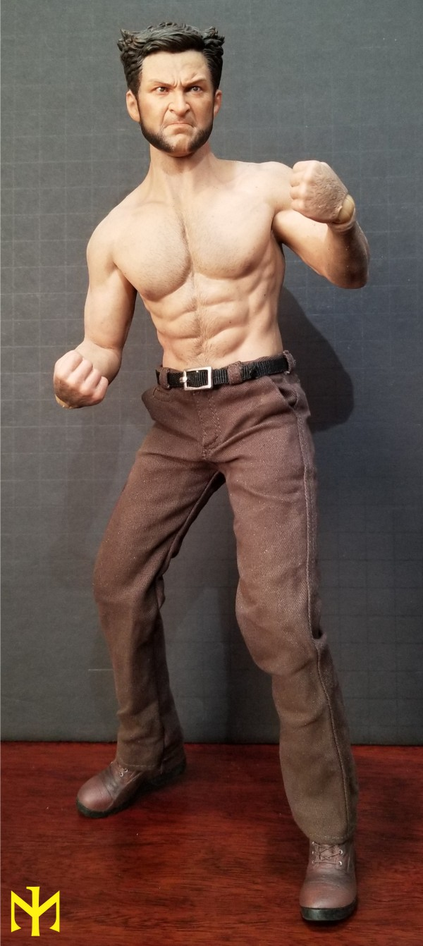 Marvel - ADD TOYS War Wolves Back (muscle version) Addwwb11