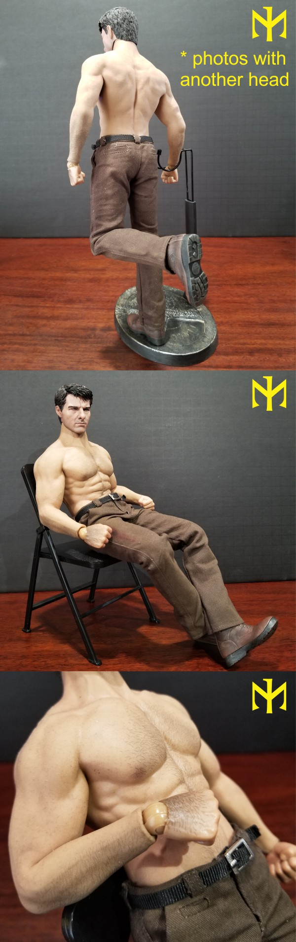 Marvel - ADD TOYS War Wolves Back (muscle version) Addwwb15