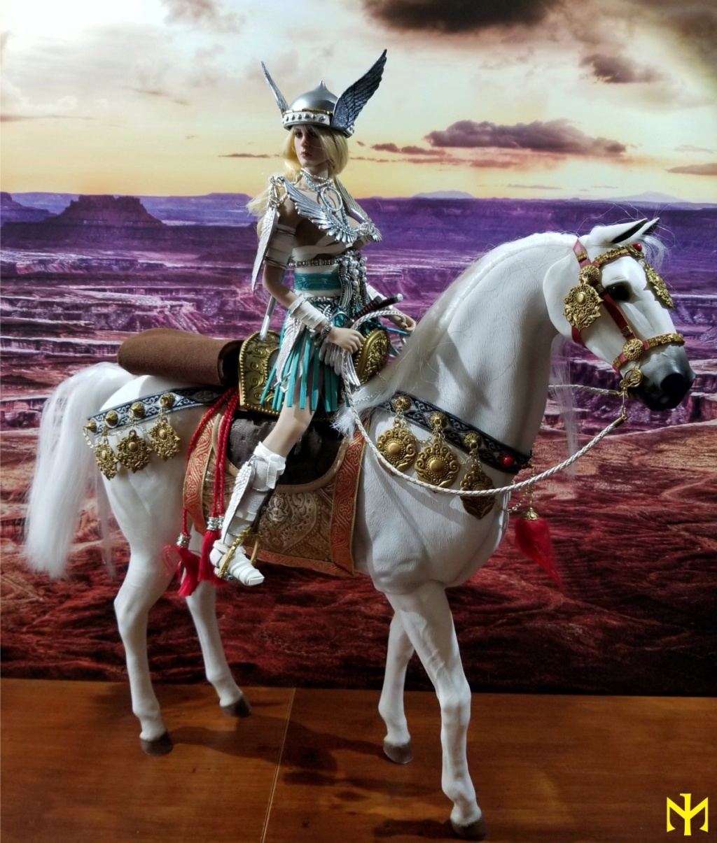 "Horse - NEW PRODUCT: RINGTOYS: 1 / 6 ""Dart Man"" genuine license - knife and horse can move (RT-005) & horse (RT-006) Agatho10"