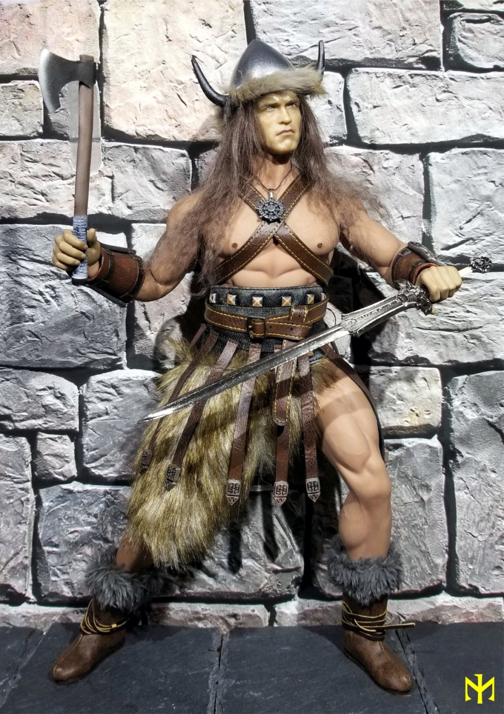 Conanesque: A Fantasy Warrior Kitbash (update 5: February 2020) Conane10