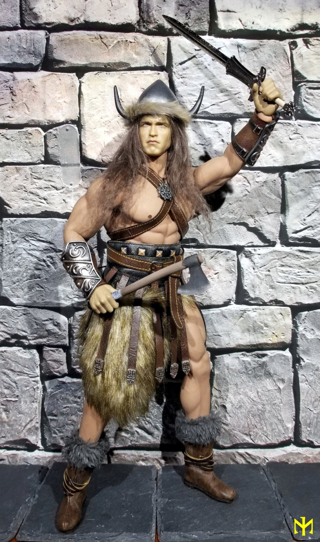 Conanesque: A Fantasy Warrior Kitbash (update 5: February 2020) Conane11