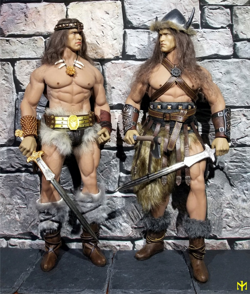 Conanesque: A Fantasy Warrior Kitbash (update 5: February 2020) Conane12