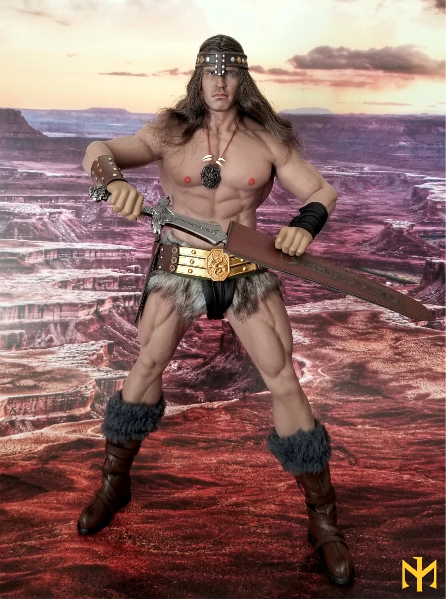 schwarzenegger - Conan the Barbarian Set A by Mr Toys (MT2018-02) review Conmt010