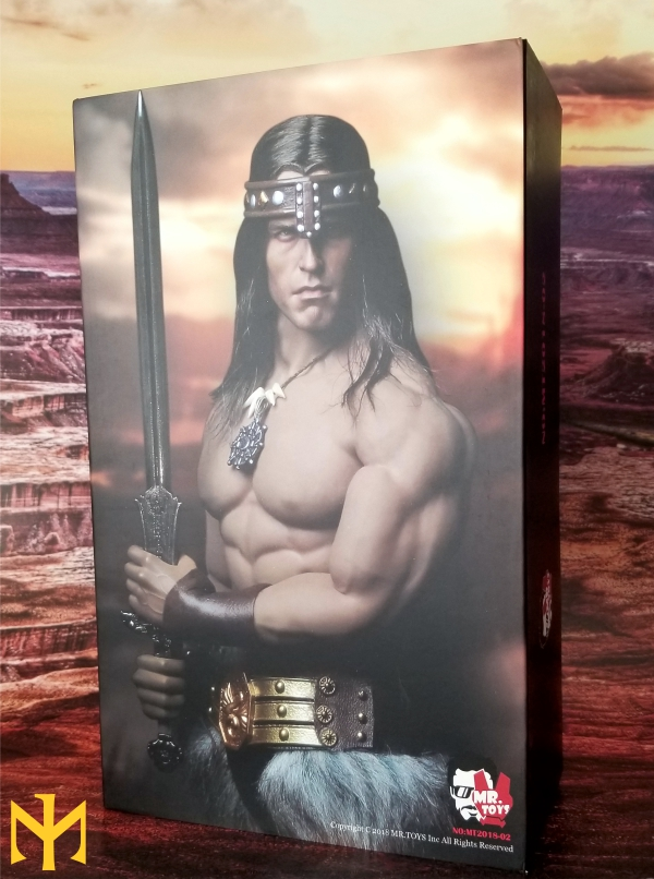 schwarzenegger - Conan the Barbarian Set A by Mr Toys (MT2018-02) review Conmt011