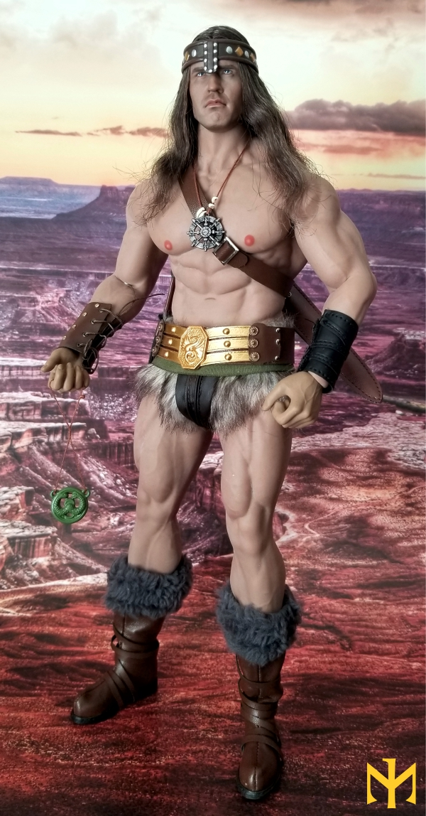 schwarzenegger - Conan the Barbarian Set A by Mr Toys (MT2018-02) review Conmt012