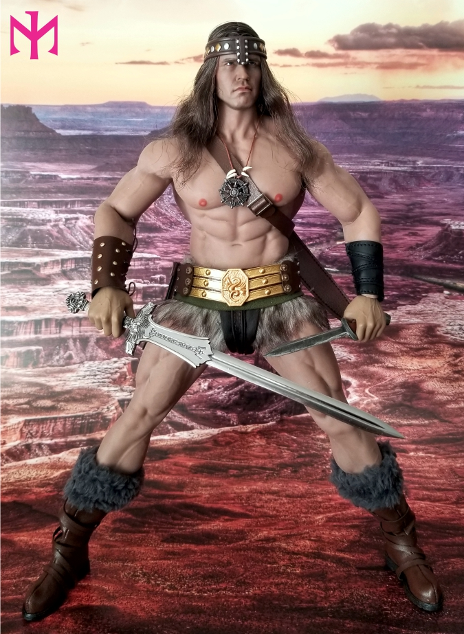 schwarzenegger - Conan the Barbarian Set A by Mr Toys (MT2018-02) review Conmt013
