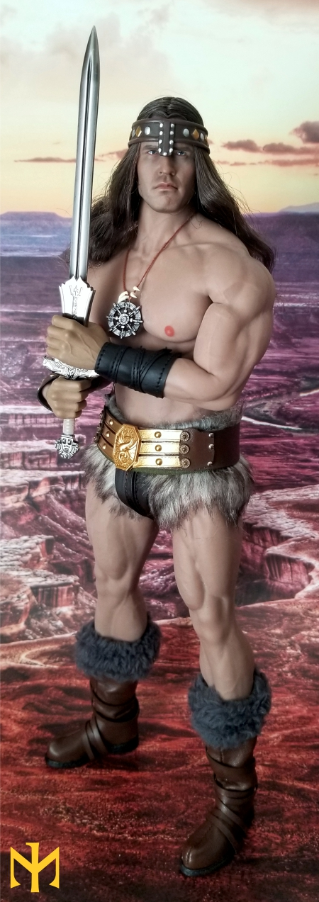 schwarzenegger - Conan the Barbarian Set A by Mr Toys (MT2018-02) review Conmt014