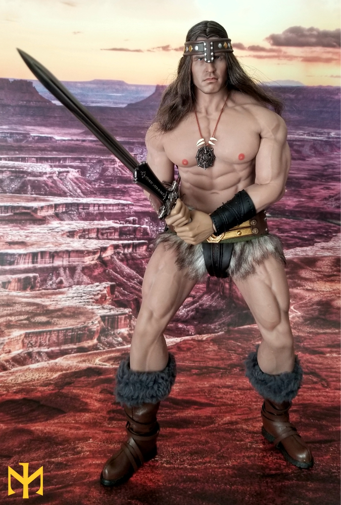 schwarzenegger - Conan the Barbarian Set A by Mr Toys (MT2018-02) review Conmt015