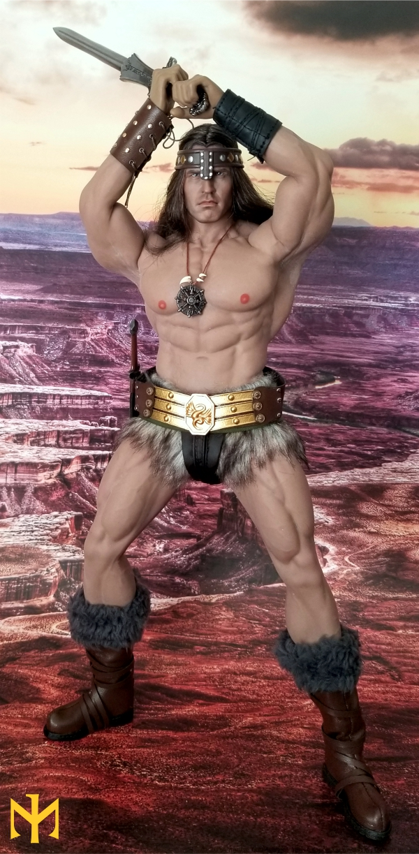 schwarzenegger - Conan the Barbarian Set A by Mr Toys (MT2018-02) review Conmt016
