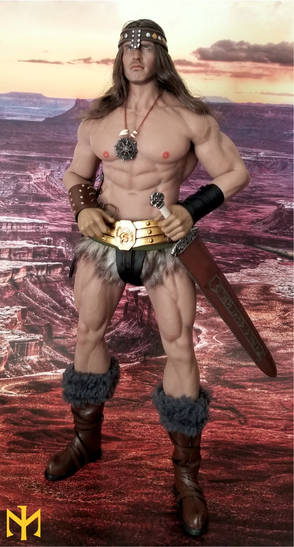 schwarzenegger - Conan the Barbarian Set A by Mr Toys (MT2018-02) review Conmt017