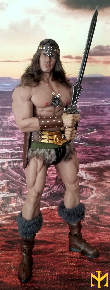 schwarzenegger - Conan the Barbarian Set A by Mr Toys (MT2018-02) review Conmt018