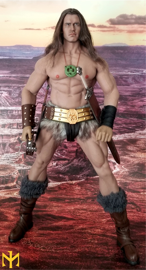 schwarzenegger - Conan the Barbarian Set A by Mr Toys (MT2018-02) review Conmt111