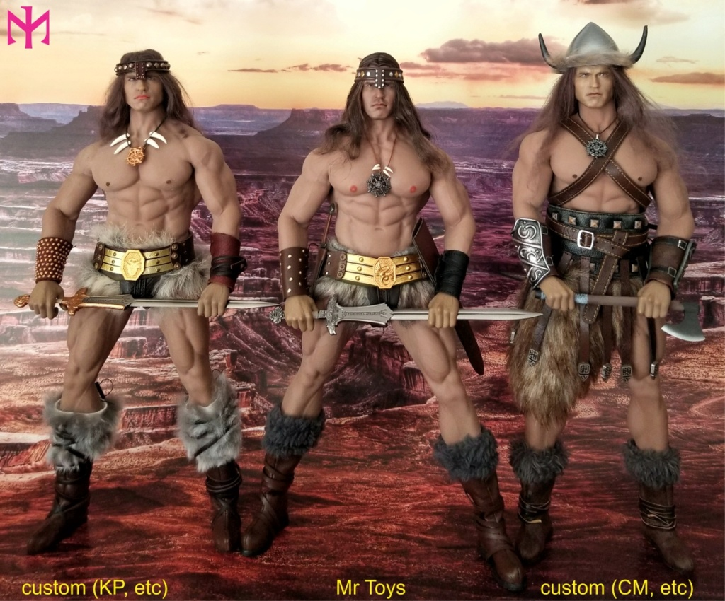 schwarzenegger - Conan the Barbarian Set A by Mr Toys (MT2018-02) review Conmt114