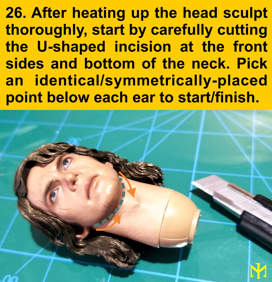 Head Conversion Tutorial (updated with Part III - June 2019) Deneck11