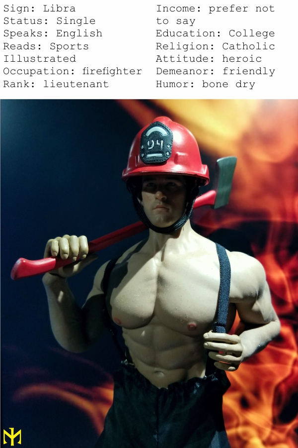 Topics tagged under firefighter on OneSixthFigures Fmc0310