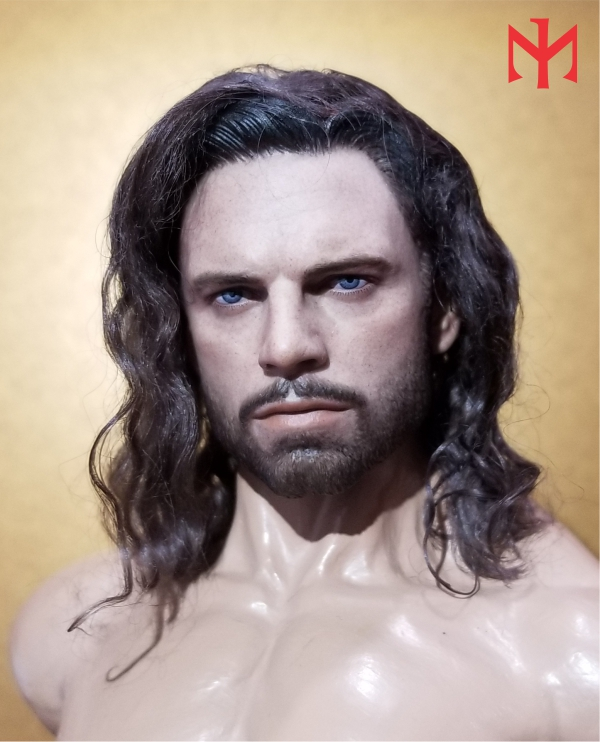 custom - Converting Sebastian Stan HT Bucky Barnes Head (updated) Htbuck18