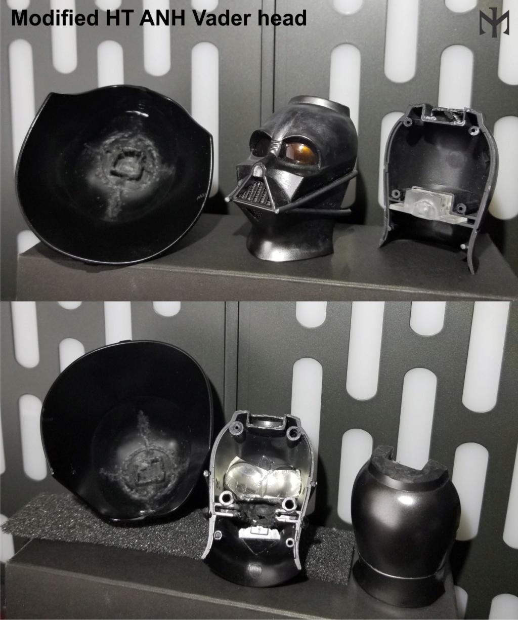 DarthVader - STAR WARS New customizing Hot Toys ESB Vader head Htdvan10