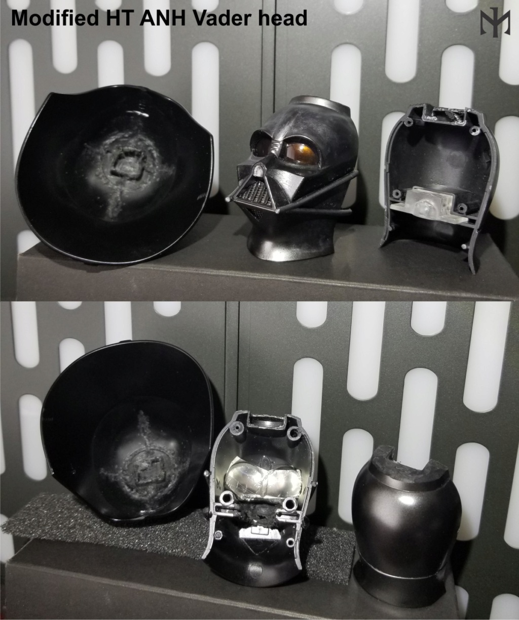STAR WARS New customizing Hot Toys ESB Vader head Htdvan10