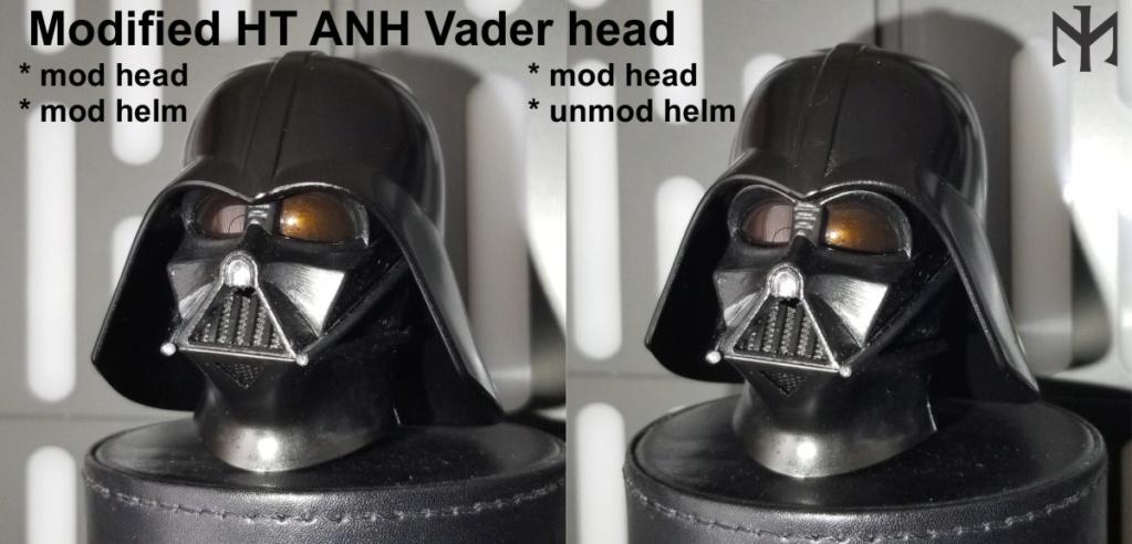 DarthVader - STAR WARS New customizing Hot Toys ESB Vader head Htdvan12