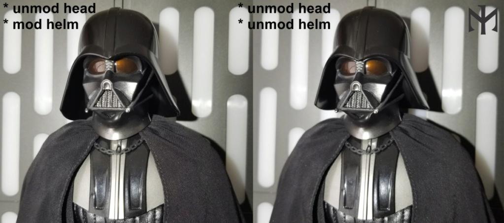 DarthVader - STAR WARS New customizing Hot Toys ESB Vader head Htdvan13