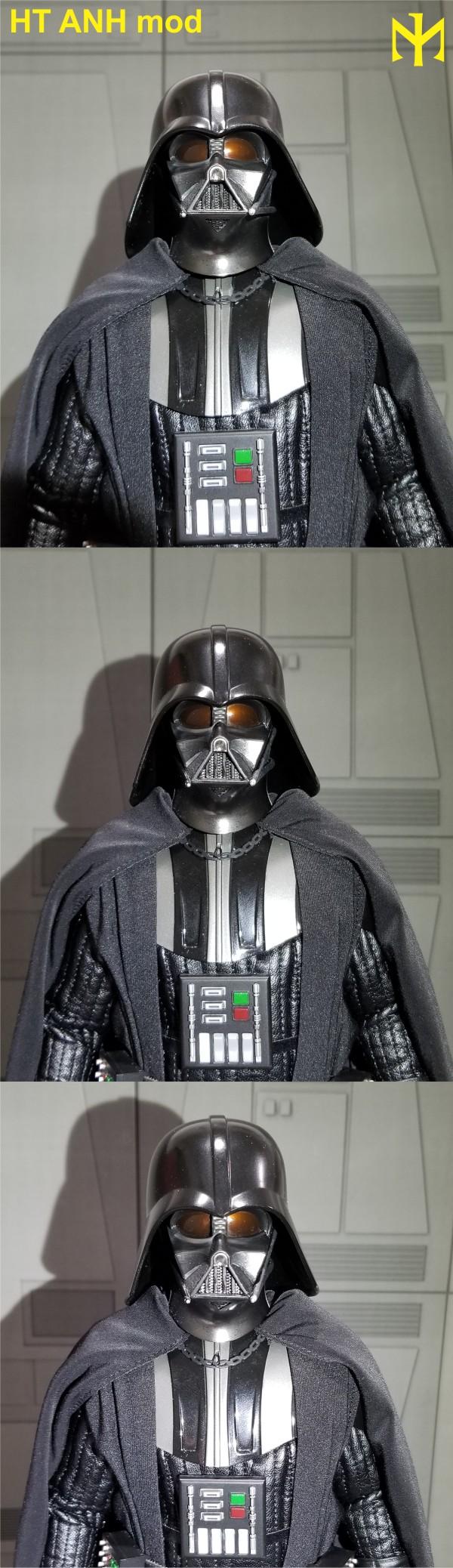 STAR WARS New customizing Hot Toys ESB Vader head Htdvan14