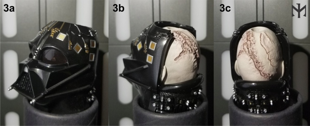 kitbash - STAR WARS New customizing Hot Toys ESB Vader head Htdves12