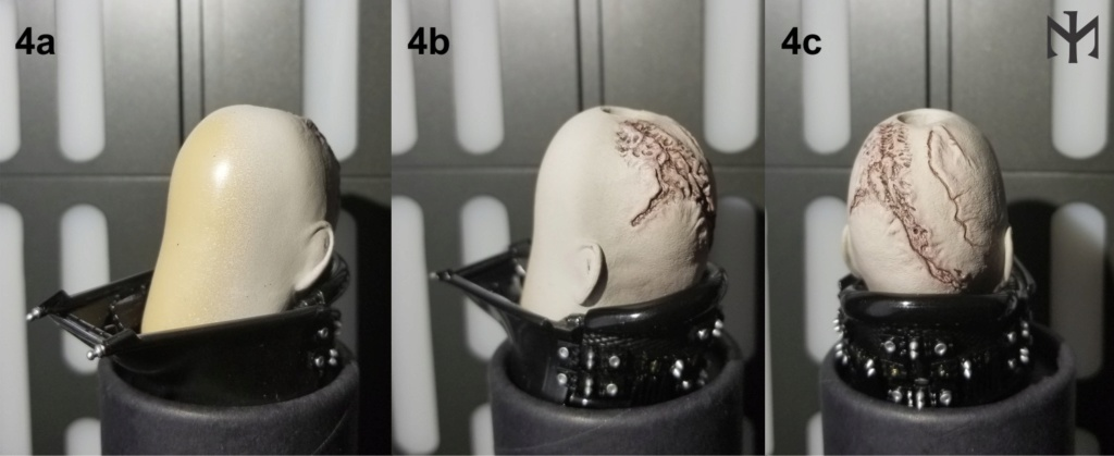 kitbash - STAR WARS New customizing Hot Toys ESB Vader head Htdves13