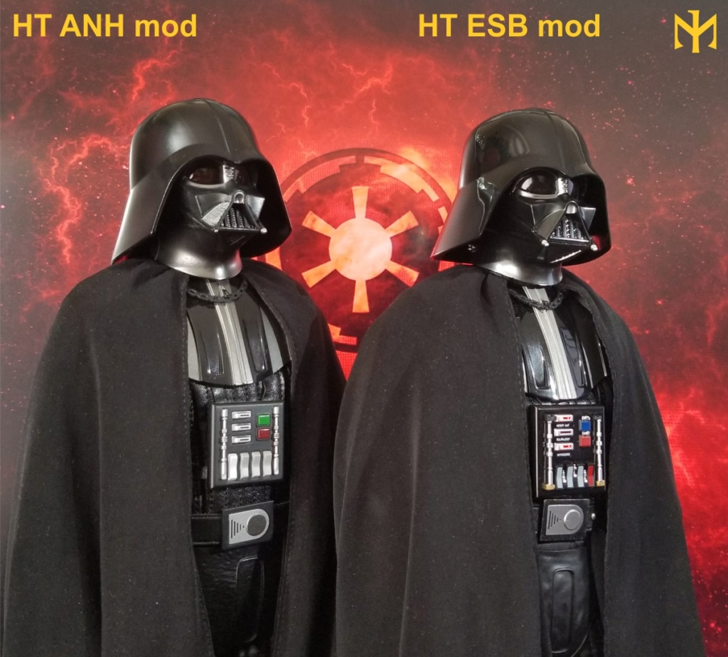 kitbash - STAR WARS New customizing Hot Toys ESB Vader head Htdves23