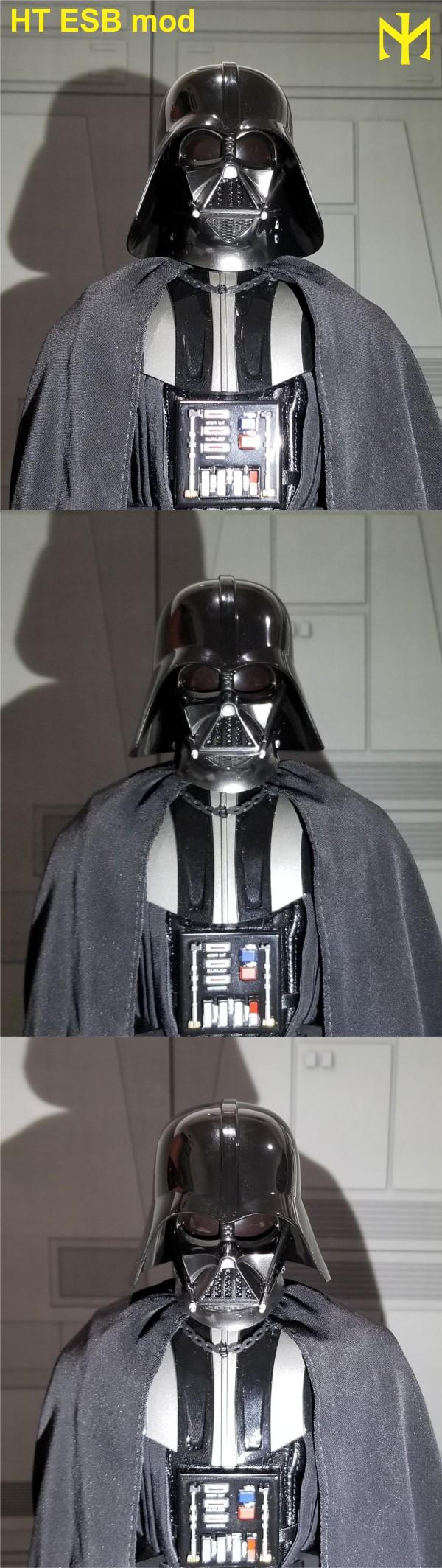 STAR WARS New customizing Hot Toys ESB Vader head Htdves26