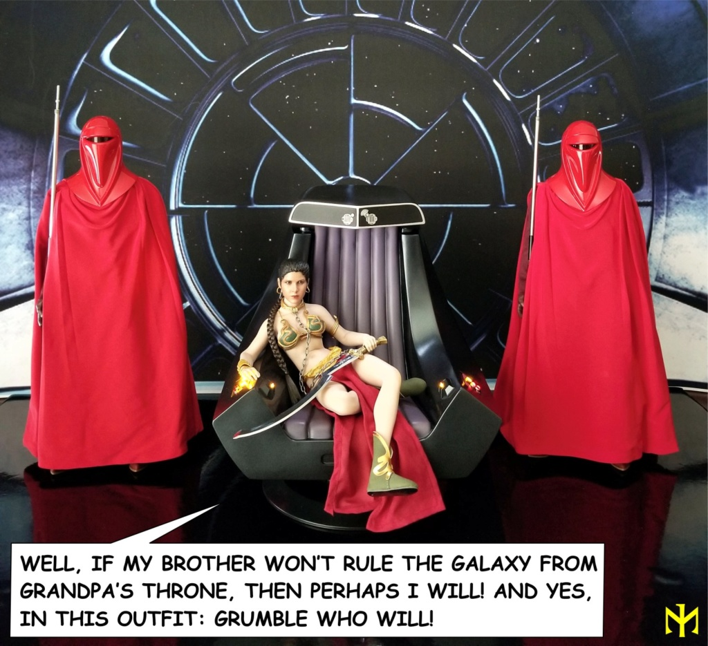 scifi - Hot Toys Star Wars Emperor Palpatine (Deluxe) Review Htep3610