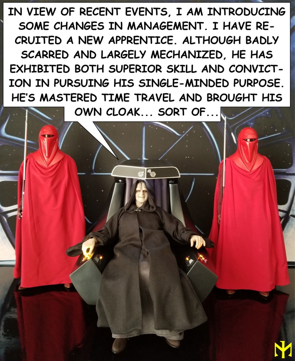 scifi - Hot Toys Star Wars Emperor Palpatine (Deluxe) Review Htep3710
