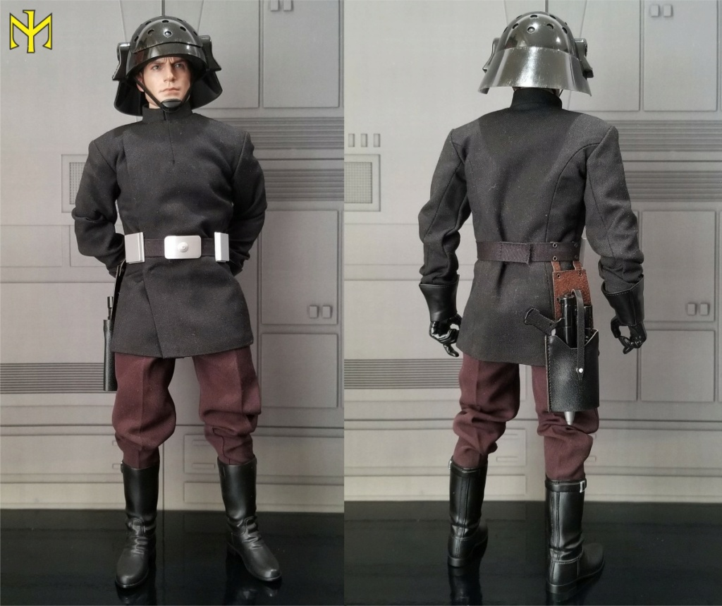 hottoys - STAR WARS Death Star Trooper (Imperial Naval Guard) by Hot Toys (updated) Hting011