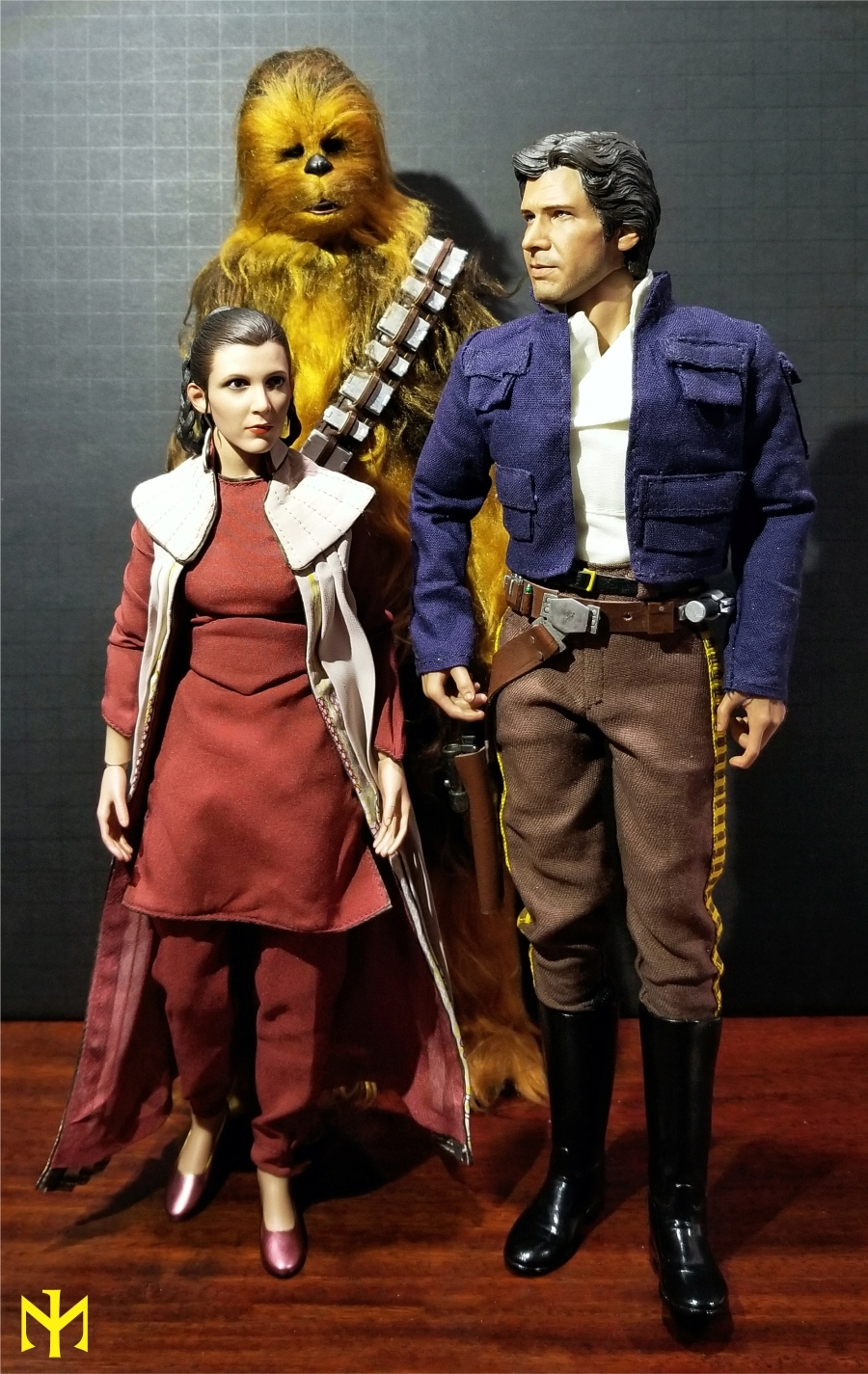 STAR WARS Hot Toys Princess Leia (Bespin) (updated with Part II: Kitbash Potential) Htleia10